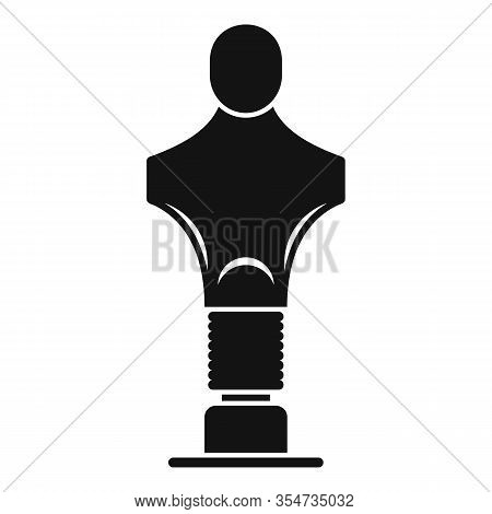 Sport Mannequin Icon. Simple Illustration Of Sport Mannequin Vector Icon For Web Design Isolated On