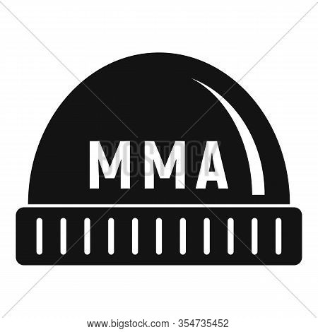 Mma Beanie Icon. Simple Illustration Of Mma Beanie Vector Icon For Web Design Isolated On White Back