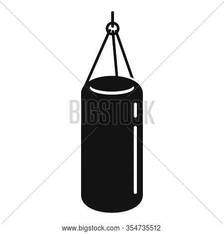 Boxing Sack Icon. Simple Illustration Of Boxing Sack Vector Icon For Web Design Isolated On White Ba