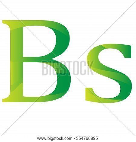 Bolivian Peso Currency Of Bolivia Symbol Icon Vector Illustration On A White Background