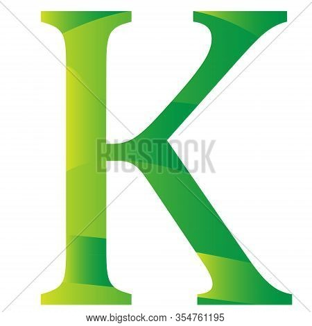 Myanma Kyat Currency Symbol Of Myanmar Icon Vector Illustration On A White Background
