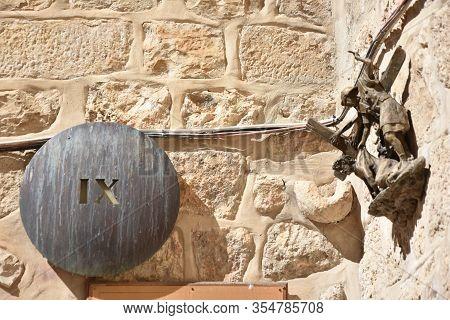 Ix Station In Jerusalem - Via Dolorosa