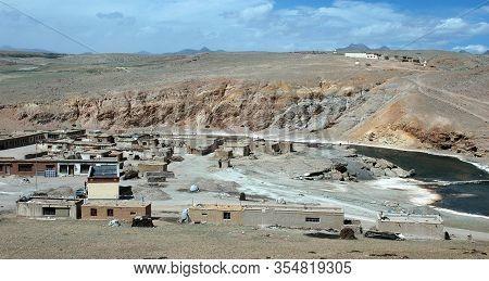 Chu Village Near Mount Kailas, Tibet, China