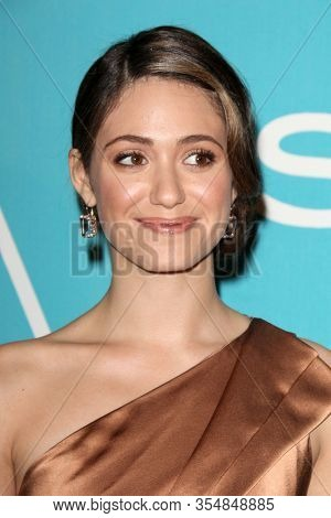 LOS ANGELES - DEC 8:  Emmy Rossum at the HFPA And InStyle Present
