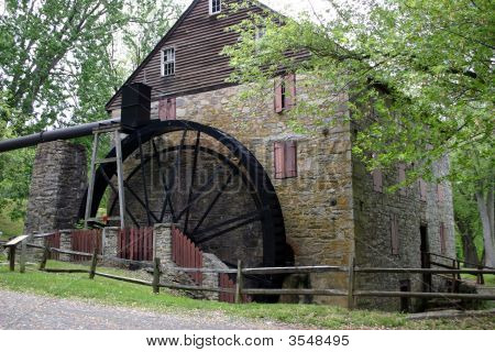 Old Restored Mill