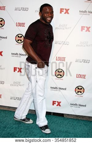 LOS ANGELES - JUN 12:  Darius McCrary at the FX Summer Comedies Party at the Lure on June 12, 2012 in Los Angeles, CA