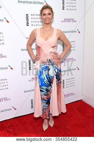 LOS ANGELES - MAR 08:  Brianna Brown arrives for the 8th Annual Women Making History Awards on March 08, 2020 in Los Angeles, CA