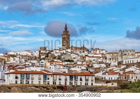 Church Of San Bartolome At Jerez De Los Caballeros, Badajoz, Extremadura In Spain.
