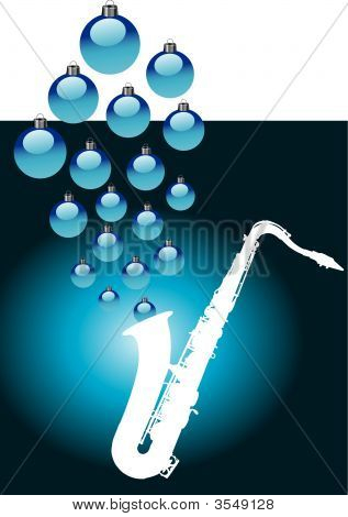 Sax With Baubles