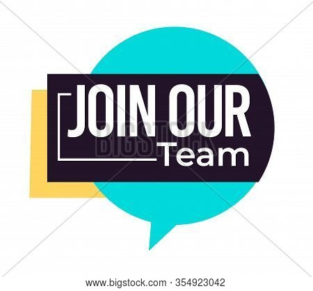 Job Offer, Join Our Team Isolated Icon, Hiring