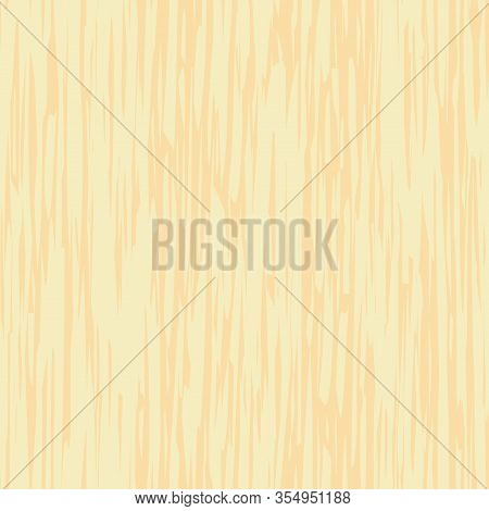 Abstract Pine Wood Seamless Vector Pattern Background. Painterly Hand Drawn Irregular Vertical Woodg