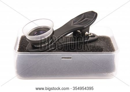 Clip On Macro Lens For Smartphone Camera