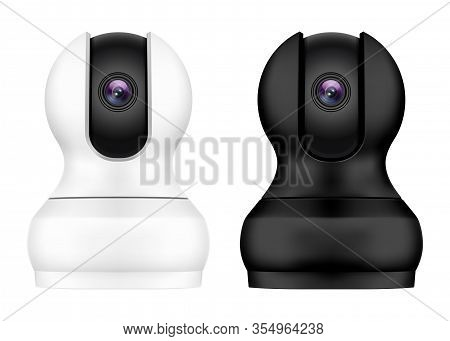 Realistic Ip Video Camera, Home Security Monitor