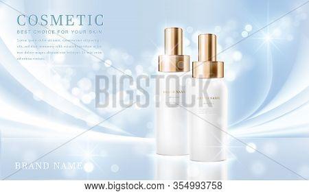 Cosmetic Bottles_elegant Blue 03