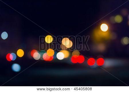 Street Lights Blur