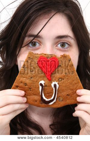 Eye Love You Cookie