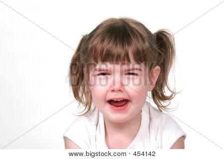 Toddler Throwing Fit