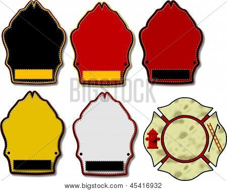 Blank Fire Helmet Shields Assortment