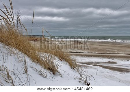 Winter at the Dunes