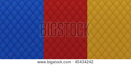Colored Textile Quilted Texture