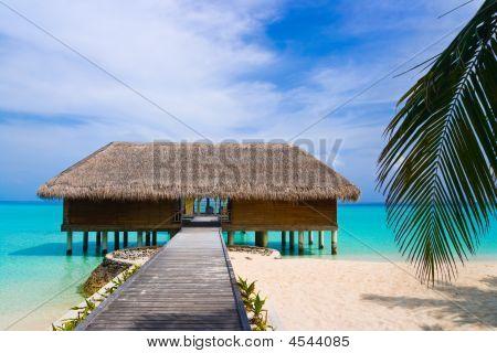 Spa Salon On Beach