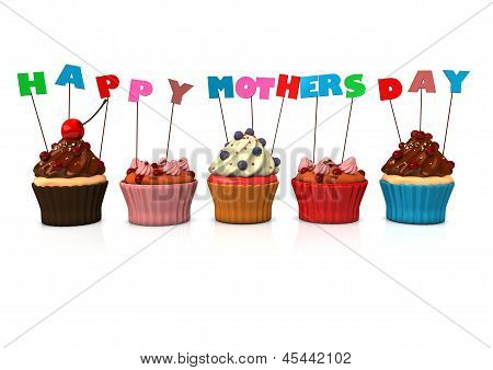 Cupcakes Happy Mothersday
