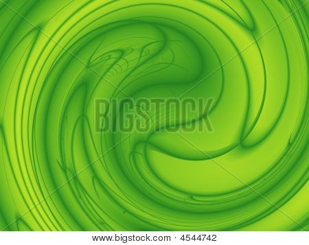 Green-and-yellow Energy Background