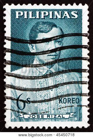Postage Stamp Philippines 1964 Jose Rizal, National Hero