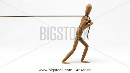 Mannequin Pulling Rope