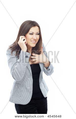 Talking Via Mobile Phone