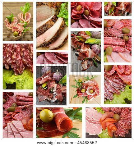 Meat And Sausages Collection