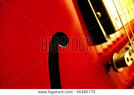 Guitar F Hole
