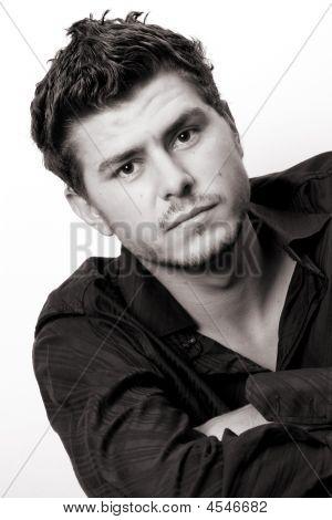 Head Shot Of Male Model