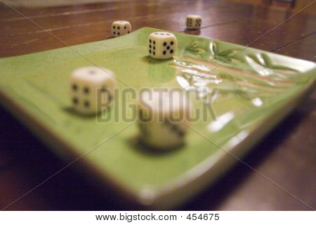 Dice On A Platter