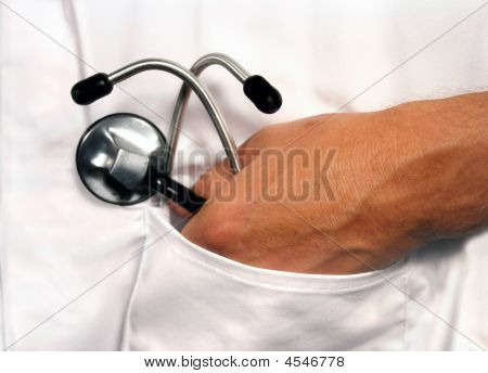 Stethoscope In Pocket