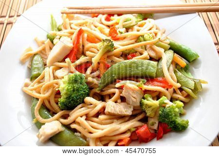 Chinese Take-Out; Chcicken Lo Mein