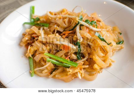 Pad Thai is the name of Thailand. To eat together poster