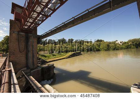 Old Dam In Chievo Verona Italy (1923)