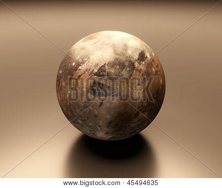 Jupitermoon Ganymede Blank