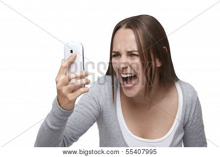 Shouting To Mobile Phone