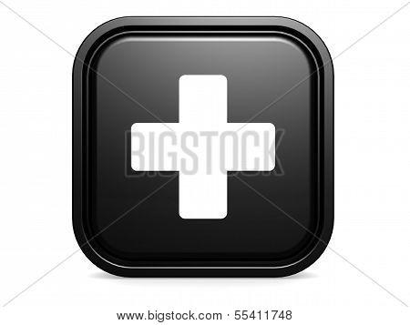 Black square cross