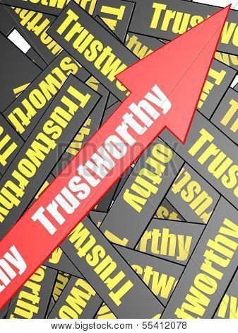 Trustworthy arrow bar