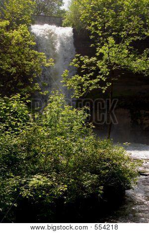 Minnehaha Falls In May