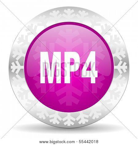 mp4 christmas icon