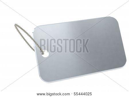 Metal plate tag