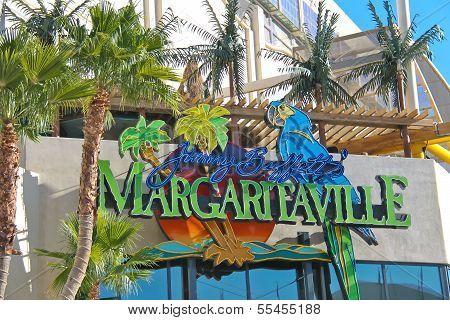 Margaritaville Restaurant-gift Shop  In Las Vegas