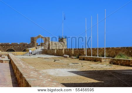 Chania - May 21 - Old Town.the Maritime Museum Of Chania, Crete, May 21, 2013,editorial use