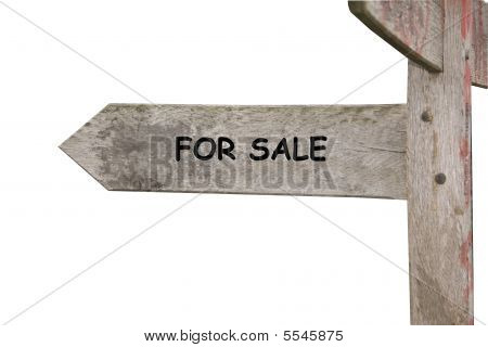 For Sale Themed Street Sign