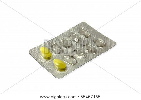 Pills In A Blister Pack