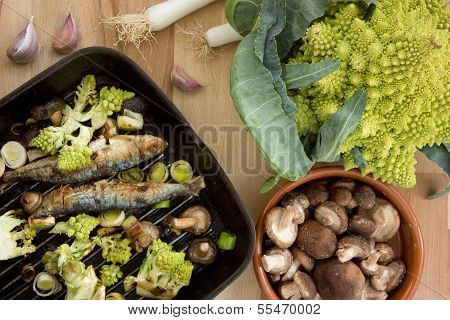 Sardines With Vegetables